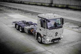Mercedes lanceert zware elektrische truck