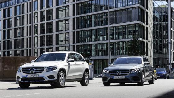 Snel een parkeerplaats vinden met Mercedes-Benz