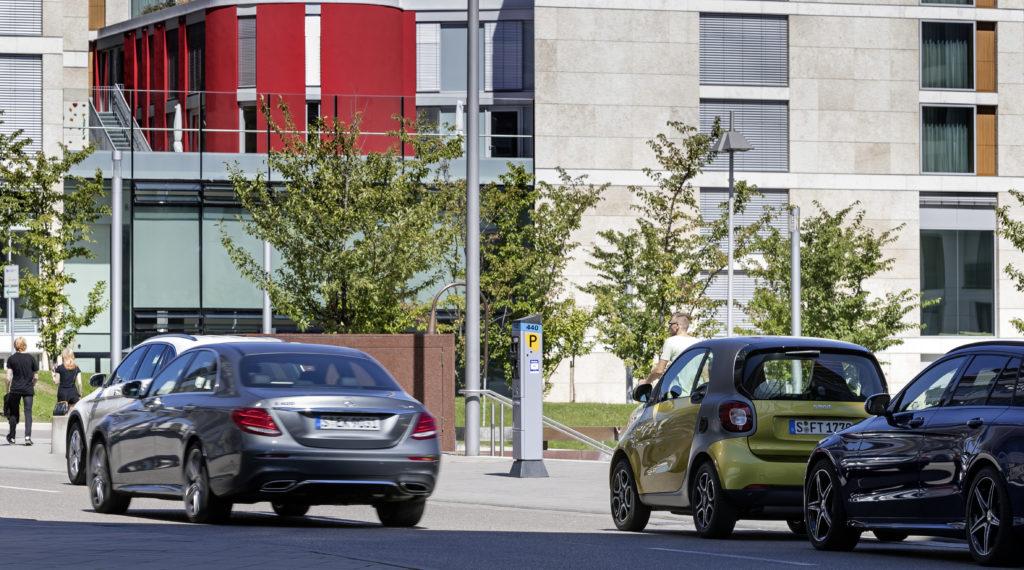 Mercedes parkeerplaats