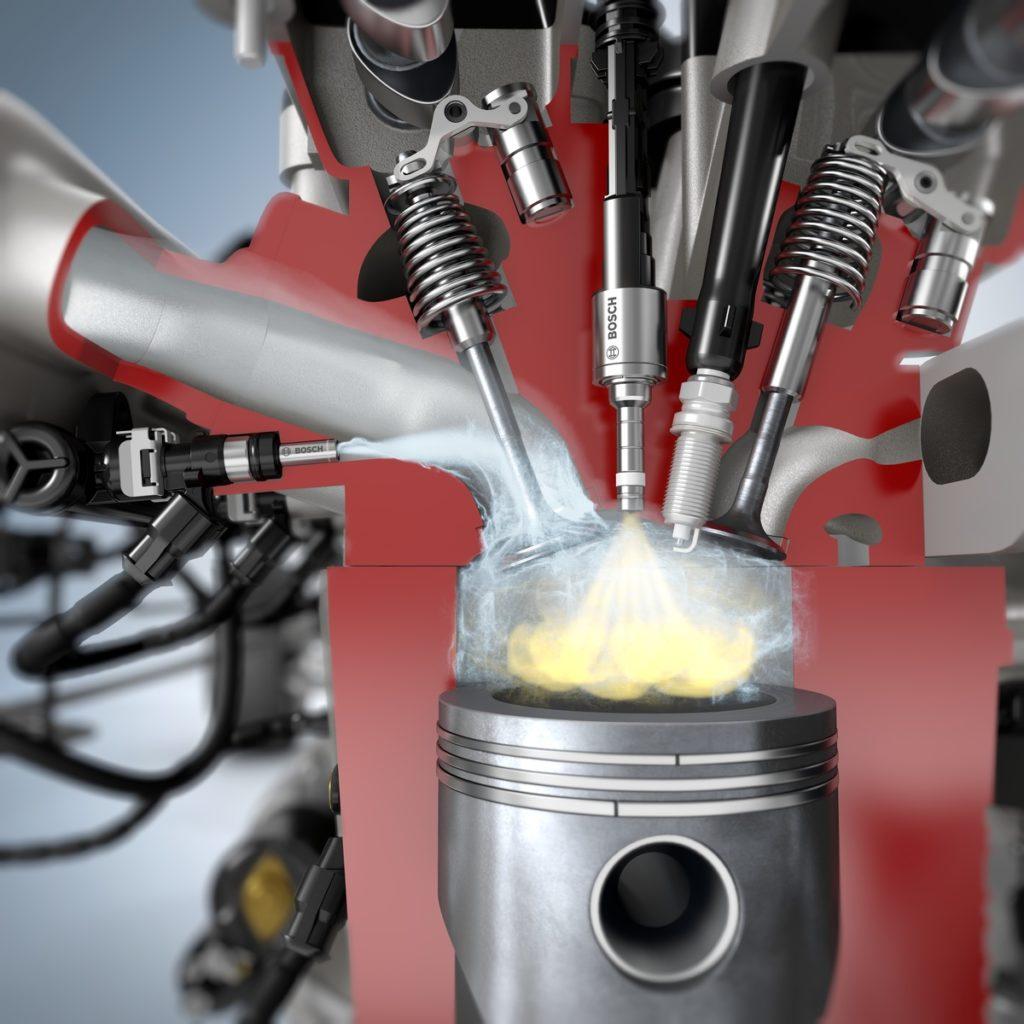 Water injectie van Bosch