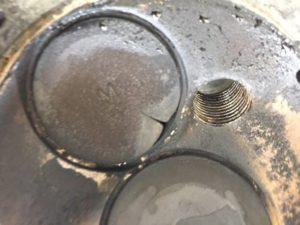 De kleppen van cilinder 1 waren de oorzaak van het slecht stationair lopen bij deze Daewoo Matiz uit 2008.