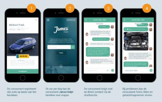 'James helpt' eerste 24/7 digitale vraagbaak voor automobilist