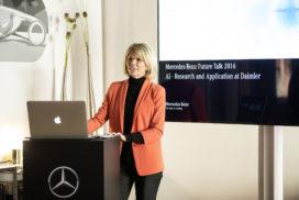 Mercedes-Benz bespreekt invloed kunstmatige intelligentie op mobiliteit