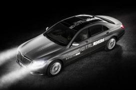 Mercedes-Benz ontwikkelt niet-verblindend grootlicht in HD-kwaliteit
