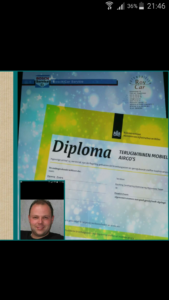 Diploma op zak. Dennis Evers gaat 'cooler' werken.