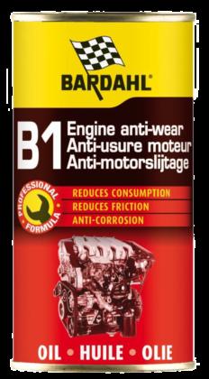 Bardahl herintroduceert B1 anti-motorslijtage