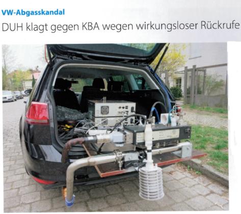 """""""VW-update voor sjoemeldiesels is placebo-oplossing!"""""""