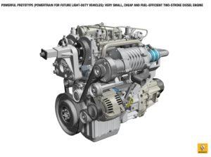 Voor auto's die permanent onder Euro 6 uitlaatkwaliteit draaien zou een berg werk aan motoraanpassing nodig worden. Of is het dan goedkoper meteen op elektrisch om te schakelen? (foto Renault)