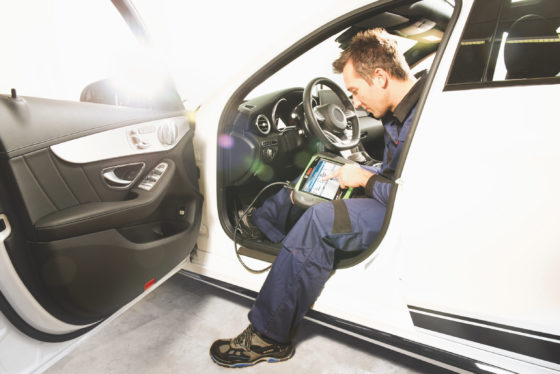 Bosch introduceert diagnosetester KTS 350