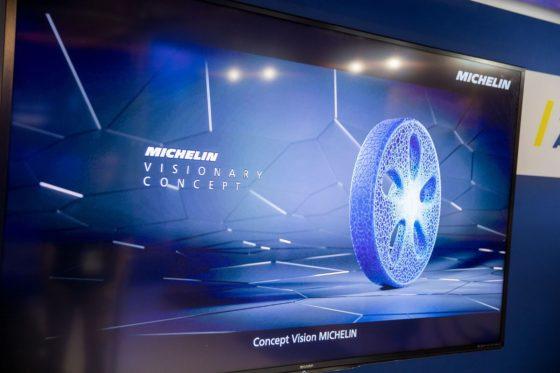 Michelin ontwikkelt biologisch wiel