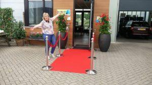 Marlies Doornebal van Auto Totaal te Houten gastvrijheid is winst