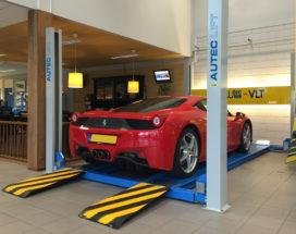 Nooteboom Trailer Service wint F1-arrangement bij Autec-VLT