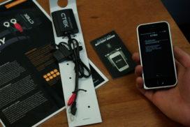 Unboxing: Batterijconditie monitoren met c-tek ctx battery sense