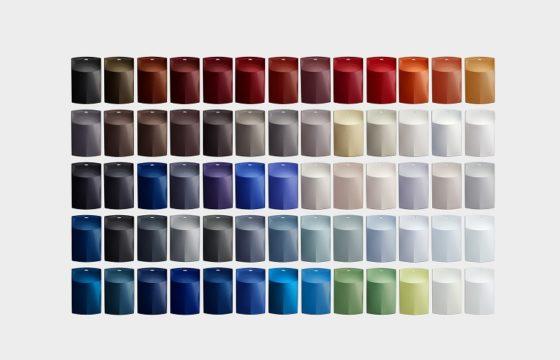 BASF presenteert de kleurtrendcollectie 2017-2018