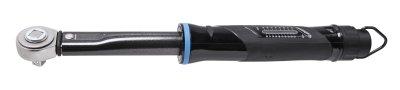 UNIOR Professional Tools: 2-componenten momentsleutel - € 149. Bereik 20 – 200 Nm, doordrukratel. Het moment in Nm of lb-ft is nauwkeurig instelbaar en wordt vergrendeld. Artikel 626766.