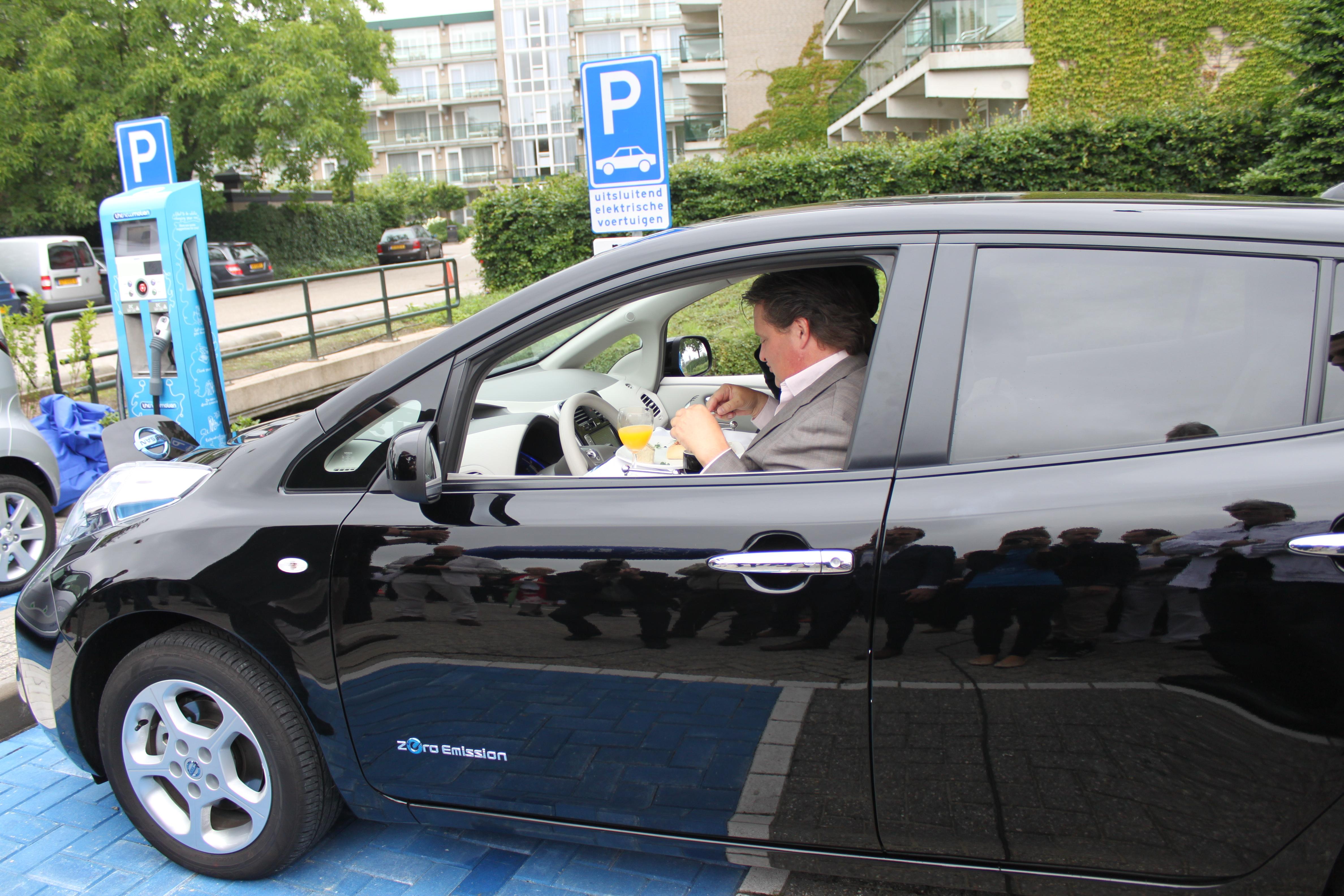 Europa Over Op Elektrisch Rijden Amt