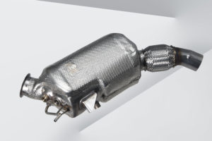 Sjoemelsoftware dient met name om belasting op het roetfilter, en verhoogd verbruik door regeneratie van roetfilter en NOx opslagkatalysator te verminderen. (foto BMW)