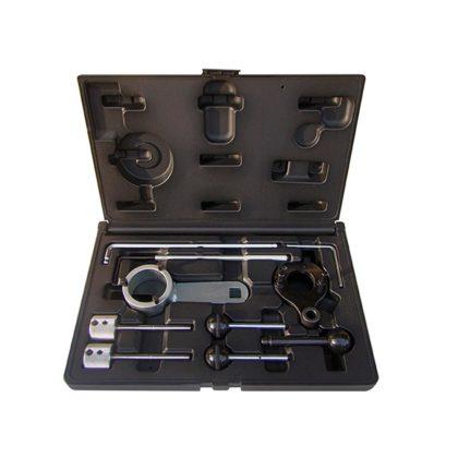 All4Car: Timingset Weber Tools - € 99,50. De nieuwste set, voor 1.6 en 2.0 TDI motoren in auto's van de VAG-groep vanaf 2012. Bevat alle benodigde pennen voor afstellen van de nokkenassen, die door een riem aangedreven en met tandwielen gekoppeld zijn. Artikel WT-2159.