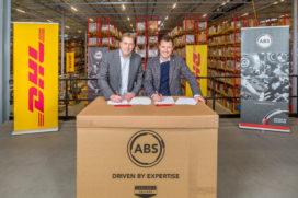 ABS magazijn verhuist naar DHL