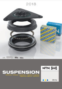 NTN-SNR 2018 catalogus voor wielophangingen.