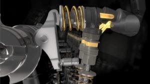 Met de UniAir presenteerde Schaeffler al eerder een elektrisch geregelde zeer variabele klepbediening, die zelfs in staat is om de klep in een slag meerdere keren te schakelen.