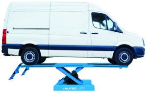 De nieuwste schaarhefbruggen zijn geschikt voor lange voertuigen en bieden meer rangeerruimte.