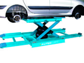 Autec-VLT komt met schaarbrug voor steeds groter wordende bestelauto's