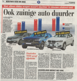 Auto's duurder door WLTP-test, hoe zit dat?