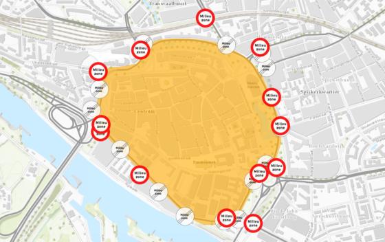Arnhem krijgt strengste milieuzone van Nederland, goed idee?