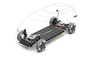 Modular electric drivekit MEB: alles nieuw om range-, ruimte- en kostendoelen te realiseren.