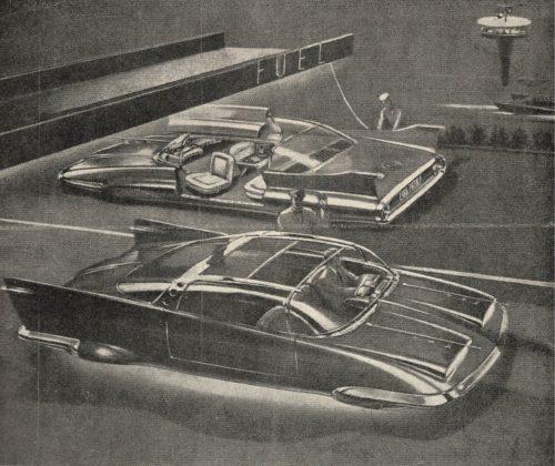 Techniek van Toen: Auto zonder wielen in 1958