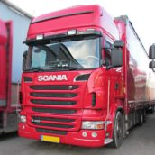 AA-Equipment: Scania truck met groot vermogensverlies