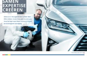 AkzoNobel lanceert nieuwe website voor Sikkens Vehicle Refinishes