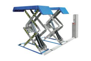 Ravaglioli schaarhefbrug geschikt voor grote en kleine auto's