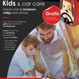 Qualitygarage scoort met 'Veilig terug naar school'-actie.