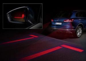 VW licht parkeerassistent