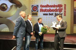 AutoHaarhuis uit Geesteren verkozen tot Onafhankelijk Autobedrijf van het Jaar