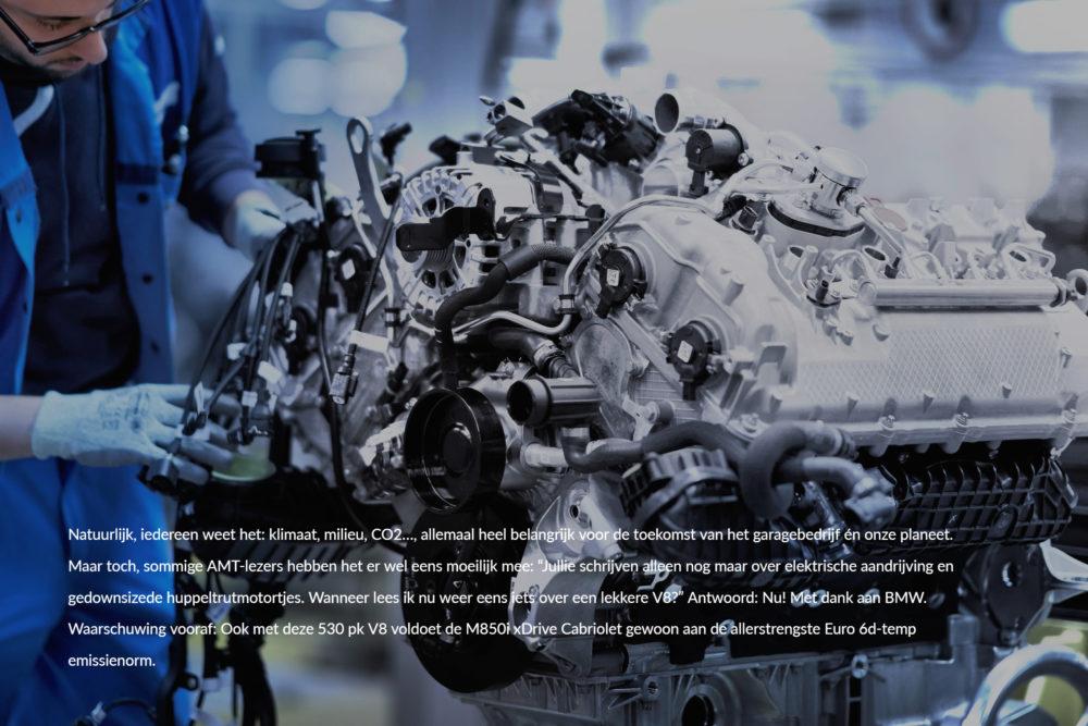 Oog voor techniek: BMW's nieuwe V8