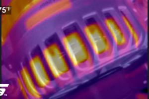Snap-on Elite warmtebeeldcamera maakt storingen zichtbaar