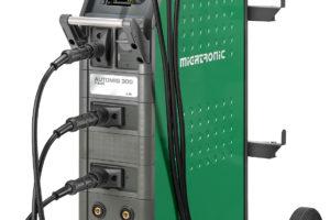 Migatronic lasapparaat voor schadeherstel en carrosserie-opbouw.