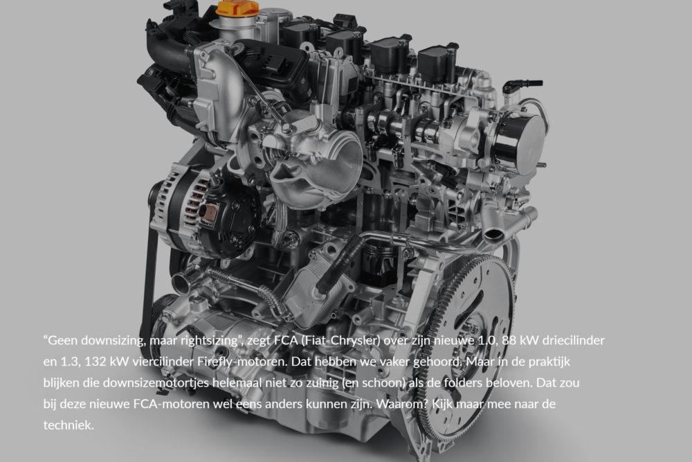 Oog voor techniek: Fiat's zuinige firefly motoren
