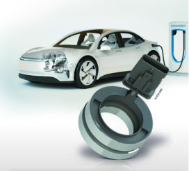 Lichtgewicht sensorlager voor e-motoren