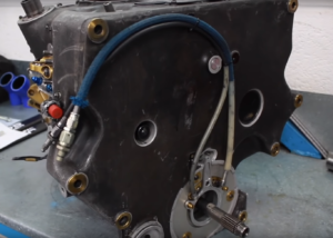 gearbox front