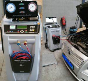Aircoservice-auto-onderhoud-AMT-3-volautomatisch-airco-R134a-station-Waeco