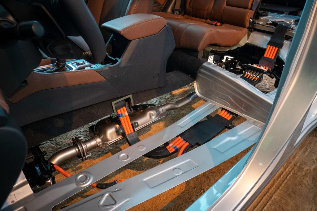 Subaru e-Boxer hoogvoltagesysteem