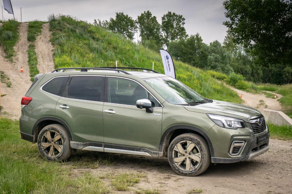 Subaru e-Boxer nieuwe Forester