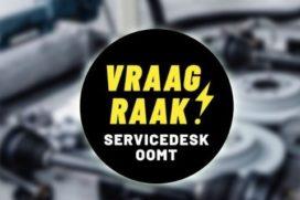 OOMT Servicedesk: je kunt het altijd even aan OOMT vragen!