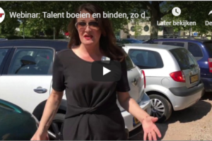 Webinar: Talent boeien en binden, zo doe je dat!