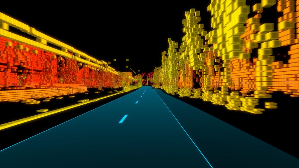 TomTom HD Maps versimpeld