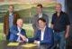Ondertekening yvo van rotterdam wilco polet sjef ten berge herme bruin peter van winssen e 80x54
